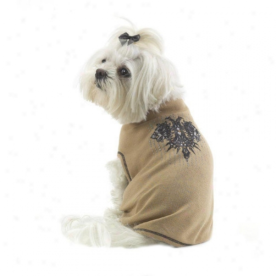 A Pet's World Object of interest Heads Tattoo Dog T-made In The Usa