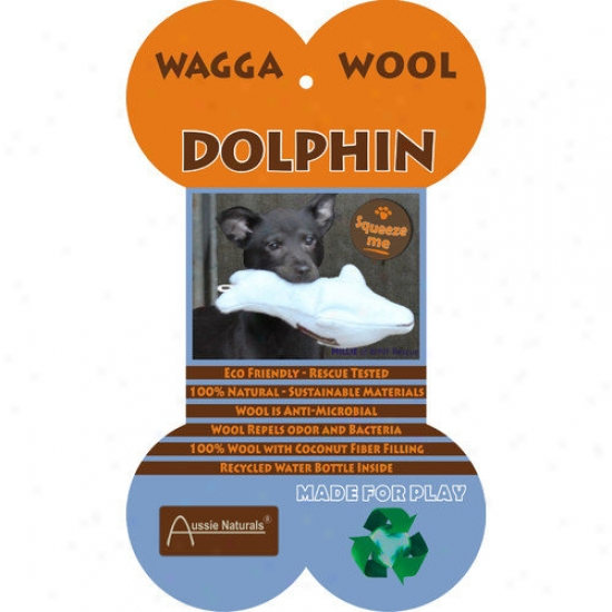 Abo eGar Bottlenose Dolphin Dog Toy