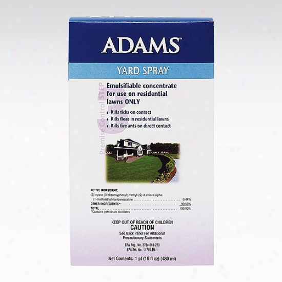 Adams Flea &_Tick Yard Spray