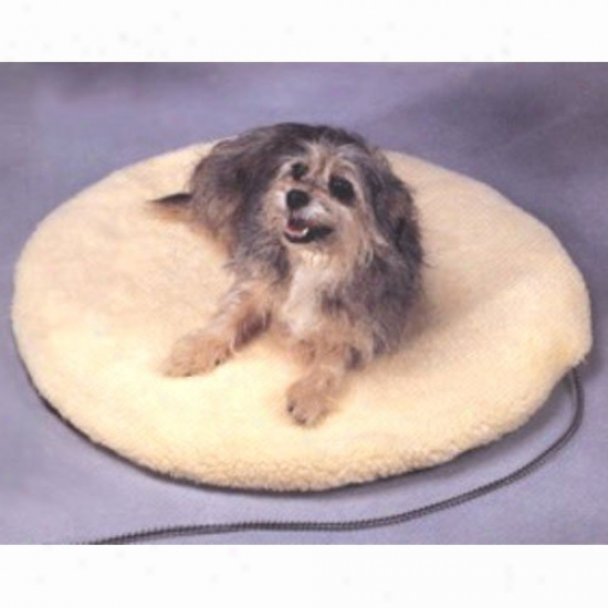 Allied Precision Round Heated Pet Bed