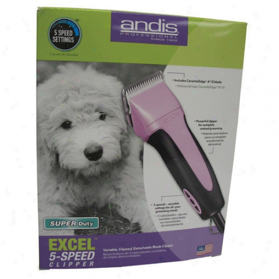 Andis Company Excel Variable 5 Speed Clipper In Stab
