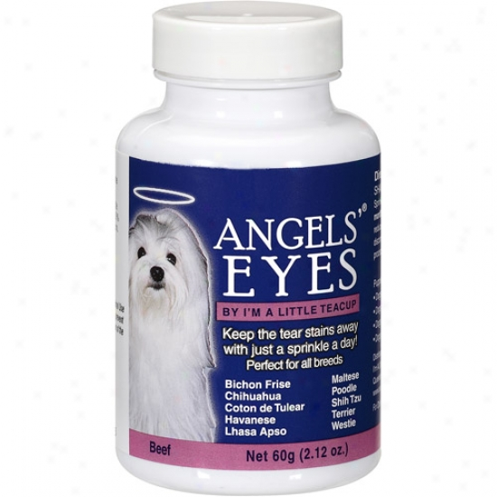 Angels' Eyes Flr Dogs Beef Tear Stain Remover, 2.12 Oz