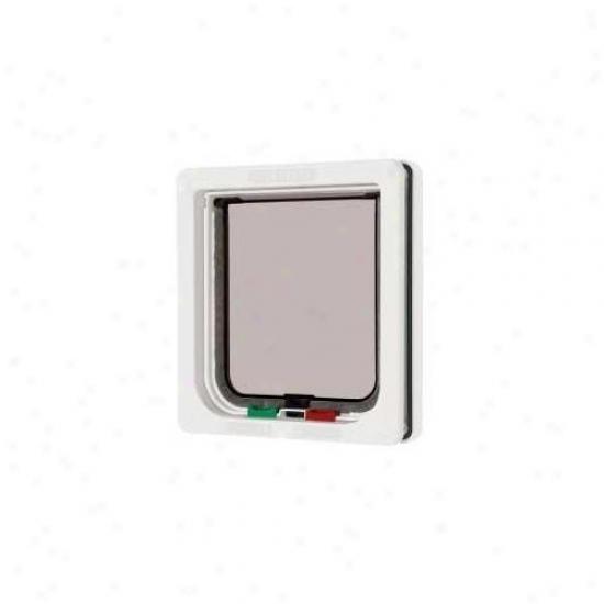 Ani Mate Can00309w Small 309 4-way Lock Door - White
