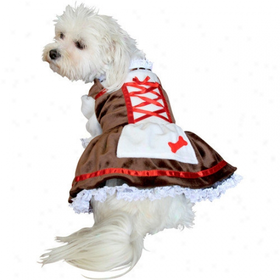 Anit Accessories Beer Girl Dog Costume