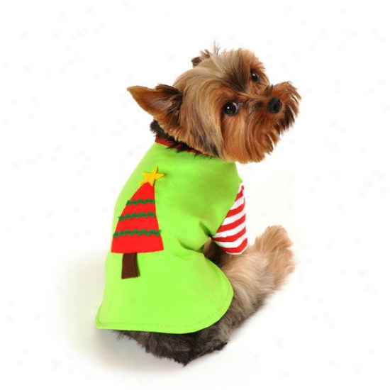 Anit Accessories Christmas Tree Shirt Dog Costume