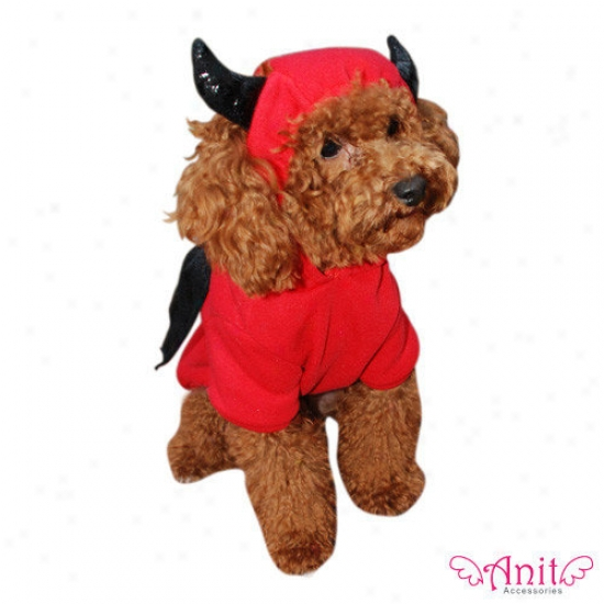 Anit Accessories Devol Bat Dog Costume