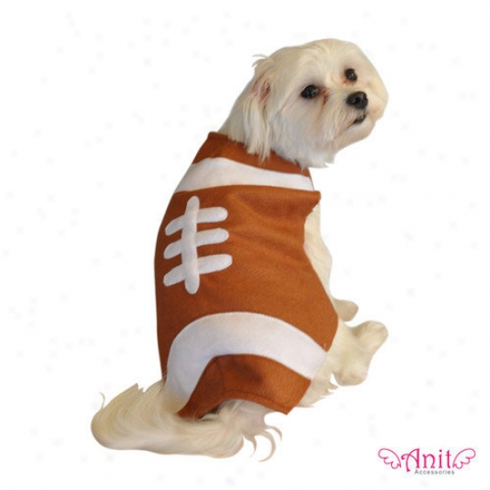 Anit Accessories Football Dog Costume