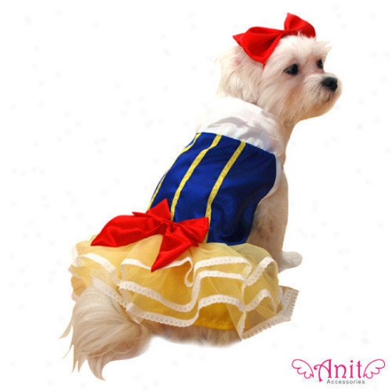 Anit Accessories Snow Princess Dog Costume