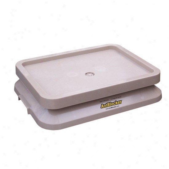 Ant Boocker Ant Proof Pet Food Tray In Sandstone