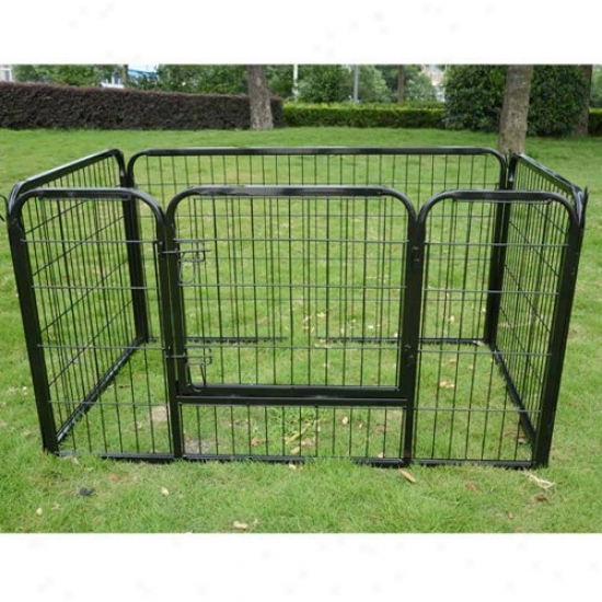 Aosom 4 Panel Heavy Duty Pet Playpen