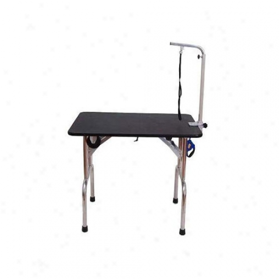 Aosom Llc Portable Folding Pet Geooming Table