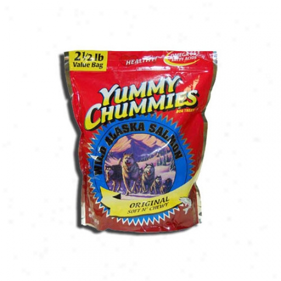 Arctic Paws 11.5' Yummy Chummies Orignial Salmon Soft N' Chewy Value Pack Dog Treat