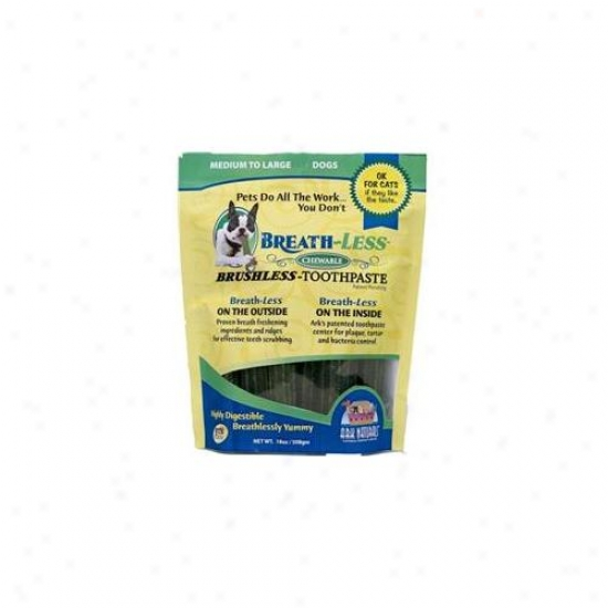 Ark Naturals 6-32634-40001-9 Breathless Brushless Toothpaste 18 Oz