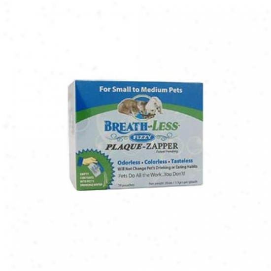Ark Naturals Breath-less Dental Products Small To Medium Dogs Fizzy Plaque-zappers For Dogs & Cats 30 Packets Per Box 22
