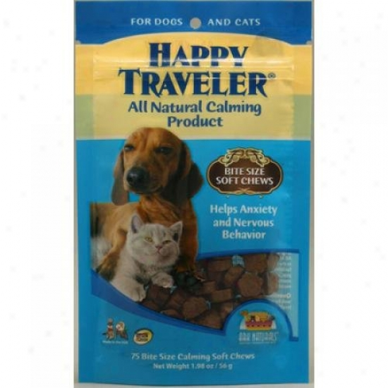 Ark Naturals Happy Traveler For Dogs And Cats 75 Soft Cgews