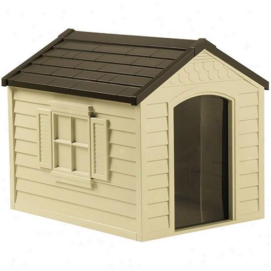 As;ca Suncast Deluxe Dog House, Dh250