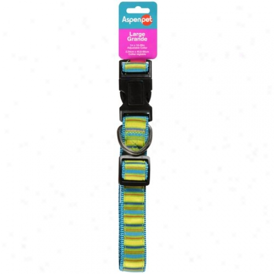 Aspen Pet Adjustable Collar, Comprehensive, Color May Vary