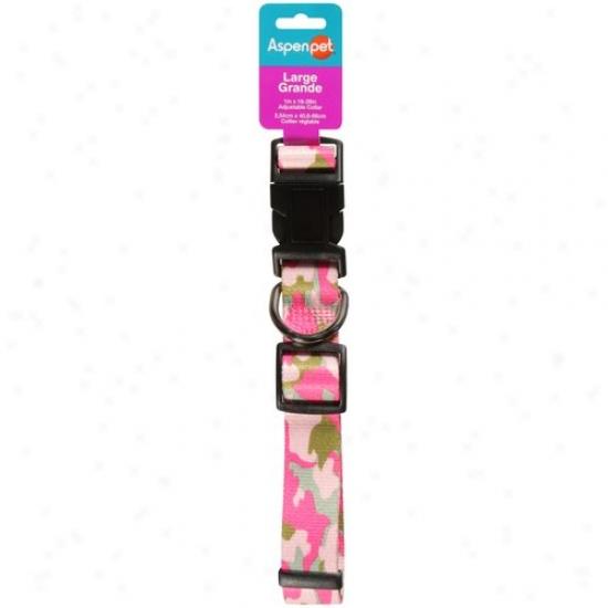 Aspen Pet Adjustable Collar, Large