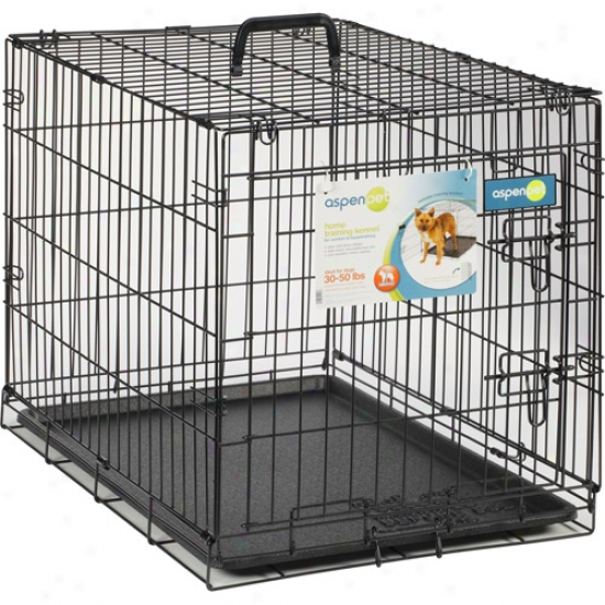 "Aspen Pet Wire Home Training Dog Kennel, 30""w X 19.5""d X 22.5""h"
