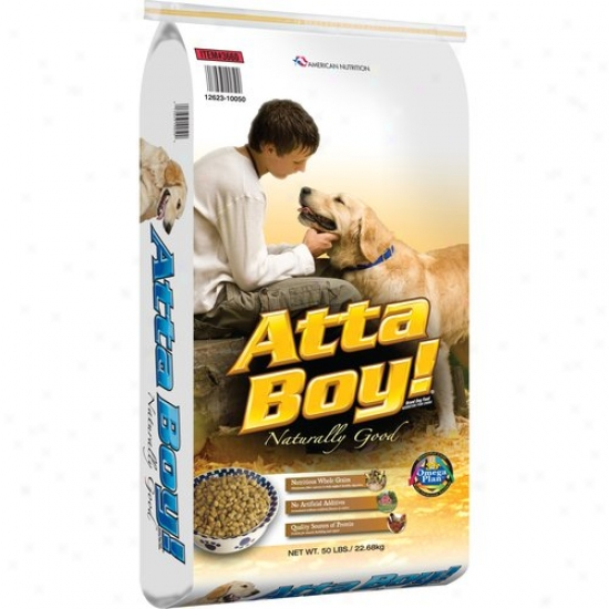 Attaboy Dog Food, 50 Lb
