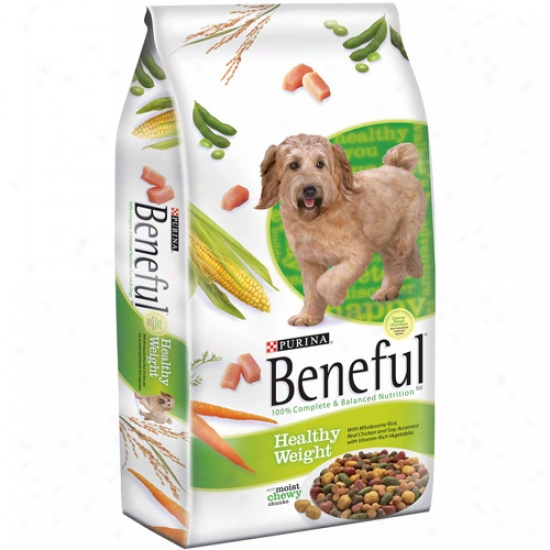 Beneful Dry Healthy Weight Dog Food, 3.5 Lbs