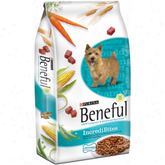 Beneful Incredibites Dog Aliment, 7 Lb