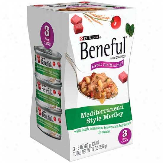 Beneful Inland Style Medley Canned Dog Food, 3 Oz, 3 Enumerate