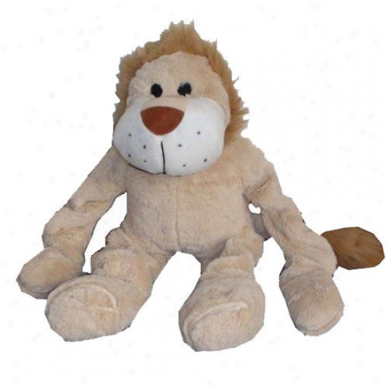 Best Pet Supplies Bungee Lion Plush Dog Toy