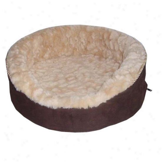 Best Pet Supplies Plush Dog Layer In Dark Brown
