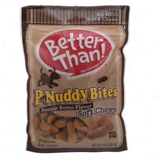 Better Than P-nucdy Bites Soft And Chewy Dog Treats