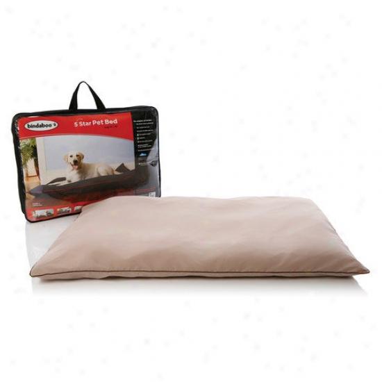 Bindaboo 5 Star Pet Bed In Sandstone