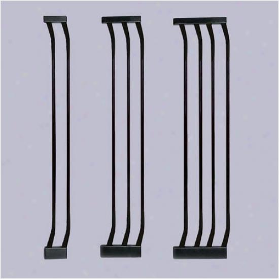 Bindaboo Black Extra-tall Gate Extensions