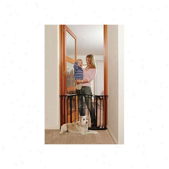 Bindaboo Hallway Pet Gate In Black