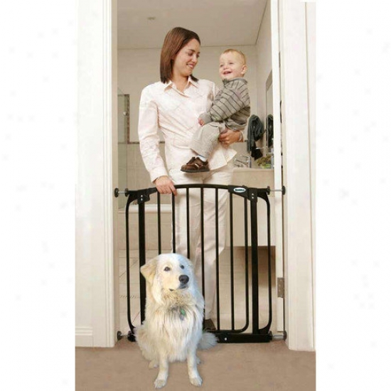 Bihdaboo Swing Closed Pet Gate In Black