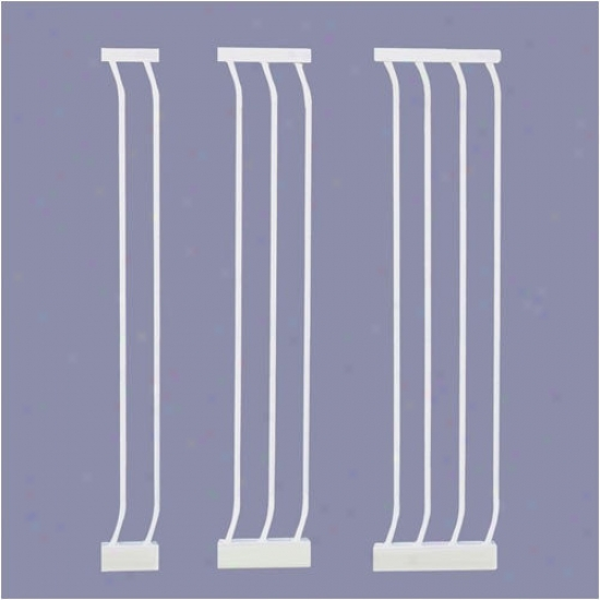 Bindaboo White Extra-tall Gate Extensions