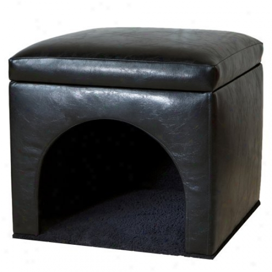 Bonded Leather Fondle Bed