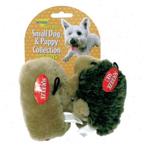 Booda 07549 Doskocil  Aspen Pet Small Hedgehog &  Hotdog Dog &  Puppy Toy