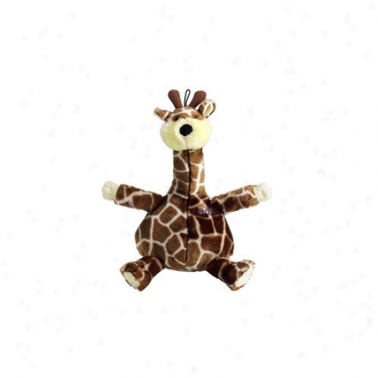 Booda Pet Products Bellies Giraffe Dog Toy