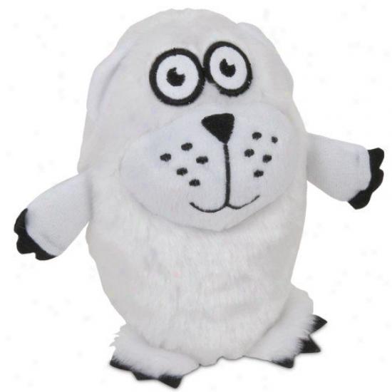 Booda Pet Products Po1ar Bear Grunts Dog Toy