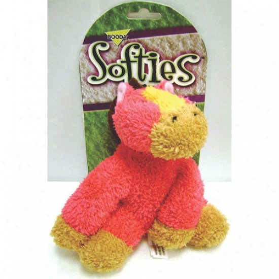 Booda Favorite Products Softies Terry Horse Dog Toy