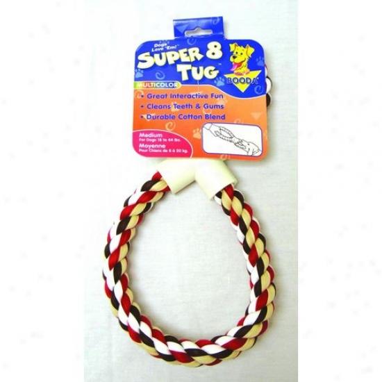 Booda Products 5212352124 Super 8 Dog Tug