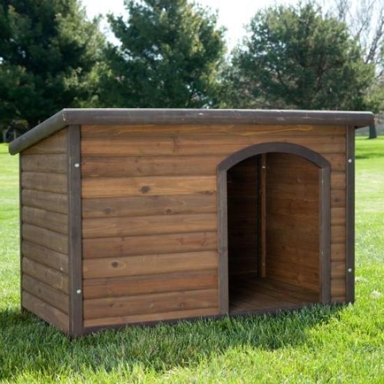 Boomer & George Log Cabin Dog Habitation