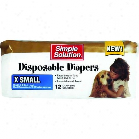 Bramton 10582 Pupsters Disposable Diaper