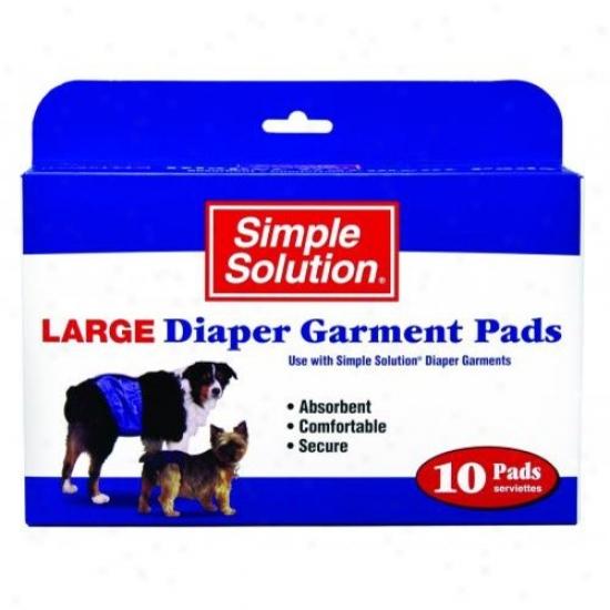 Brzmton 10607 Ss Diaper Garment Pads Lg 22pk
