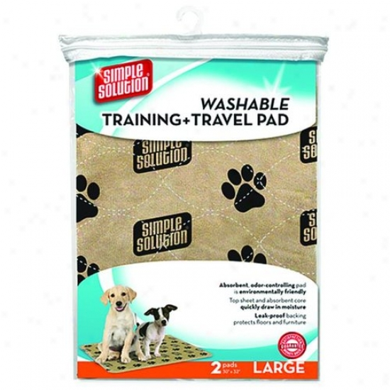 Bramton 11443 Simple Solution Washable Training + Travel Pad
