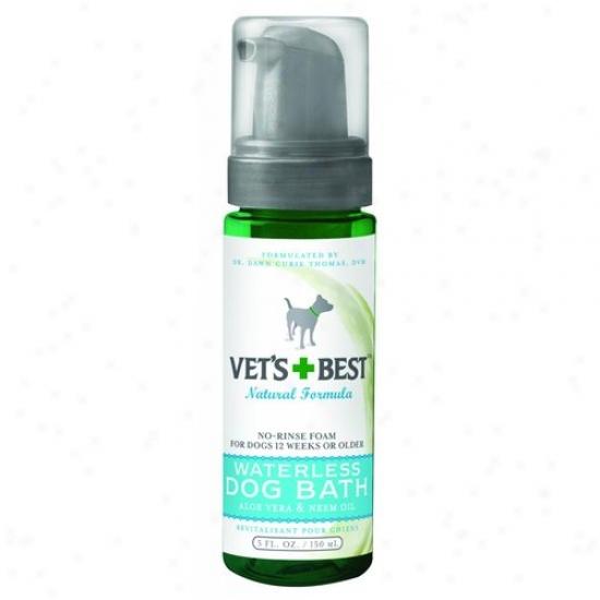 Bramton 3165810134 Vets Best Waterless Dog Bath