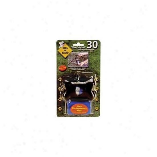 Bramton Co  Bags On Board Bone Dispenser Black 30 Sack - 10400