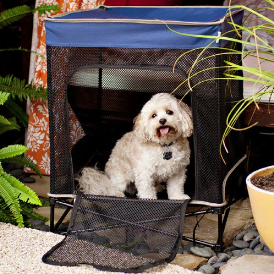 Bravo Sports Quik Shade Instant Pet Hole  With Mesh Bed