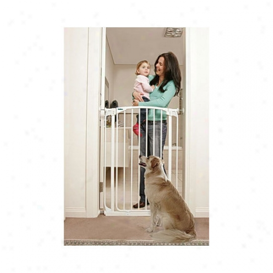 Buncle-39 Bindaboo White Extra-tall Swing Closed Pet Gate (set Of 2)