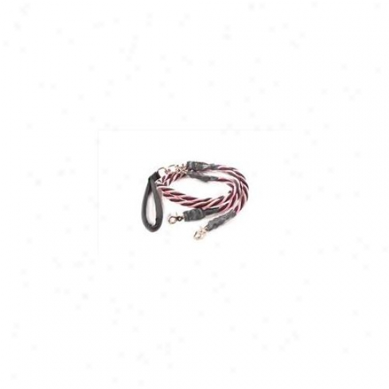 Bungee Pupee Bq40d Twice X-large Up To 165 Lbs - Pink Ane Black 4 Ft.  Leash